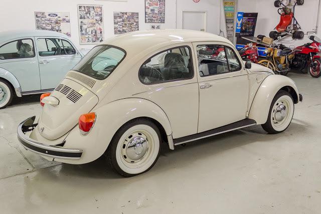 VW Käfer beige