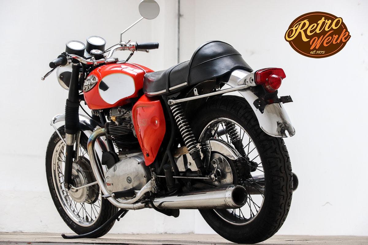 Motorbike, Motorrad Retro & Vintage by Retrowerk