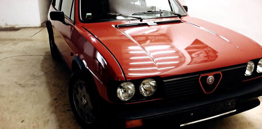 Alfa Romeo Drivestyle Video 1983
