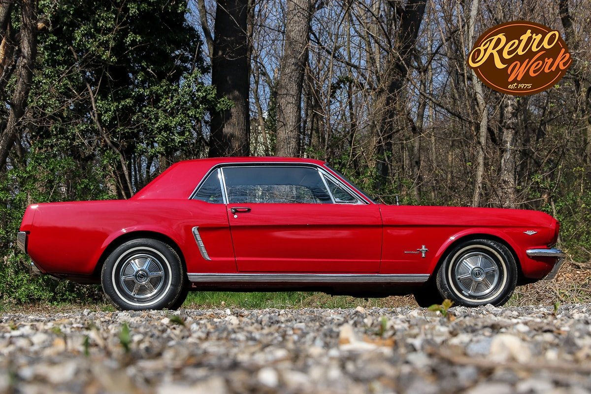 Ford Mustang 1964 in rot by Retrowerk
