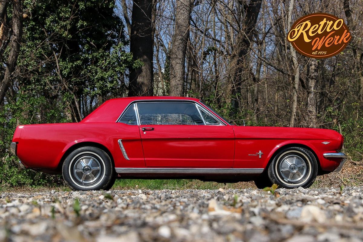 Ford Mustang 1964 in rot by Retrowerk