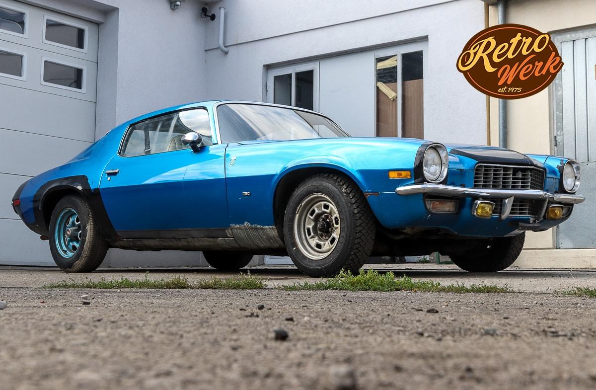 Chevrolet Camaro 1972 in blau by Retrowerk