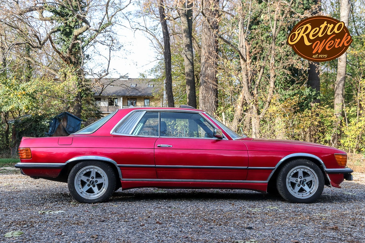 Mercedes 450 SLC Tuning by Retrowerk