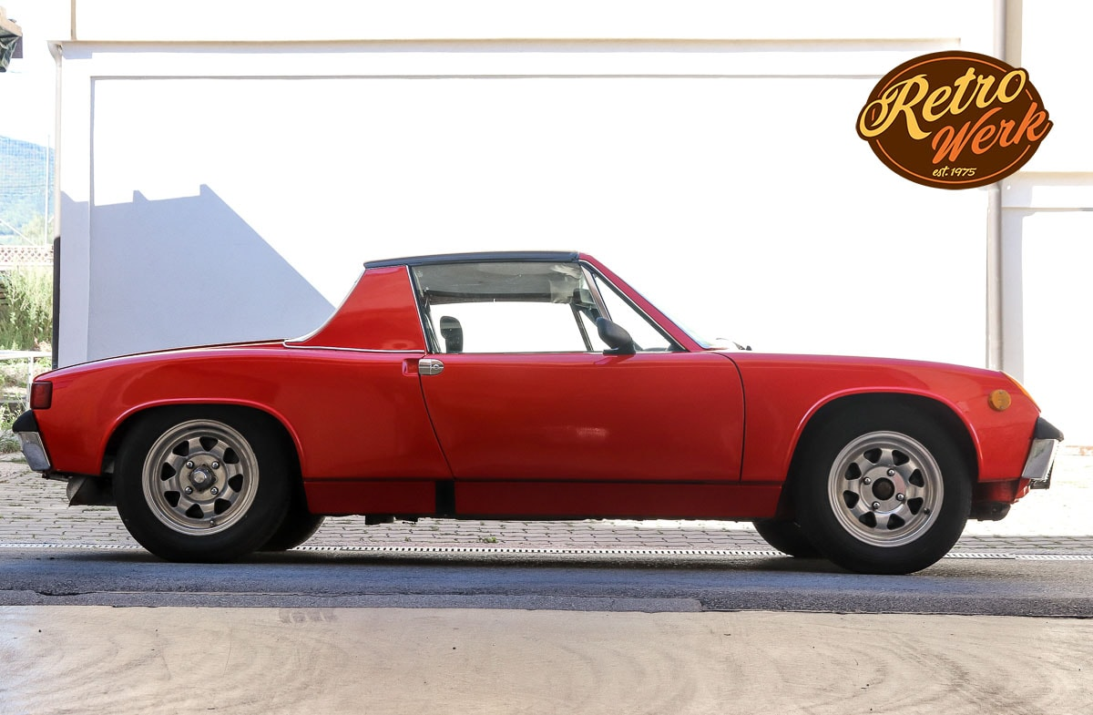 Porsche 914 in rot by Retrowerk